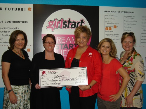 $2,685.00 Donated to Girlstart on behalf of Arkanova Energy