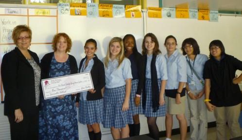 $1,000.00 Donated to Ann Richards School on behalf of Sam Woollard