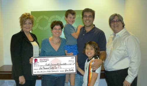 $5,062.50 Family Fund Created with Austin Community Foundation on behalf of Alison Alter, Jeremi, Natalie and Zachary Suri