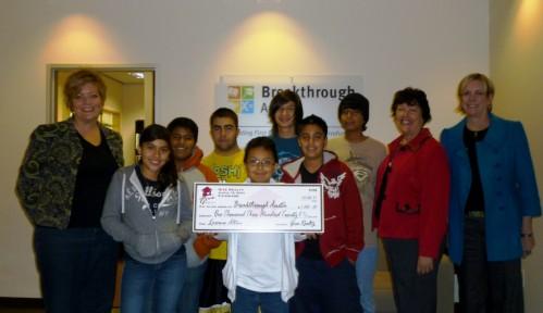 $1,320.00 Donated to Breakthrough Austin on behalf of Laraine Altun