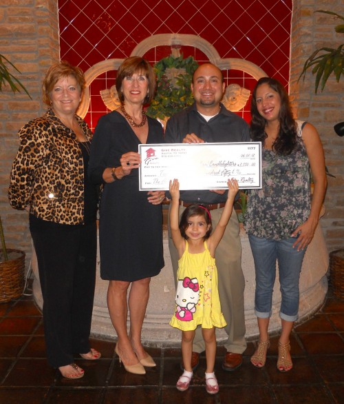 $2,550.00 Donated to Any Baby Can Candlelighters program on Behalf of the Flores Family