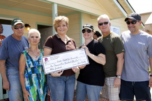 $1,155.00 Donated to Habitat for Humanity on behalf of Mike Jurkash