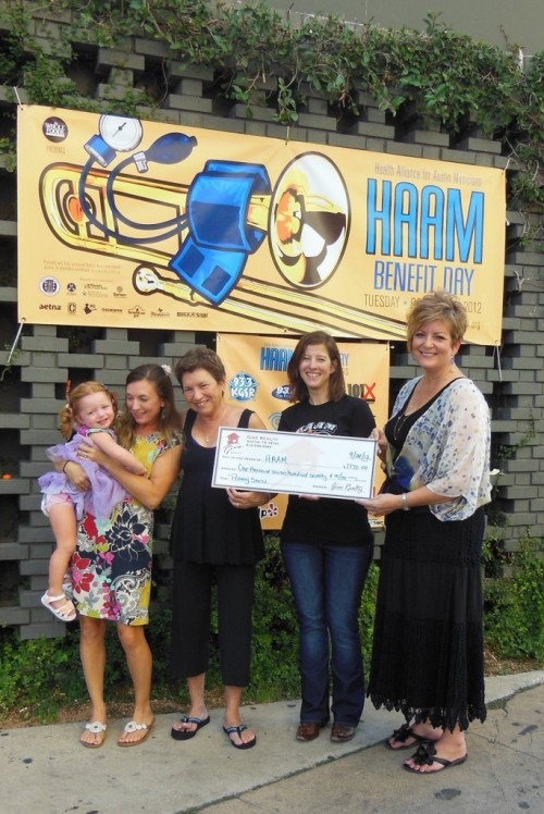 $1,770.00 Donated to Health Alliance for Austin Musicians on Behalf of Peggy Stern