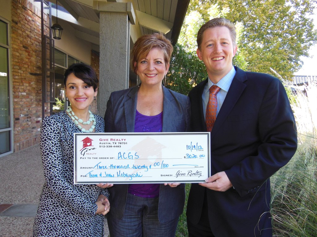$3,020.00 Donated to Austin Classical Guitar Society on Behalf of the Kobayashis