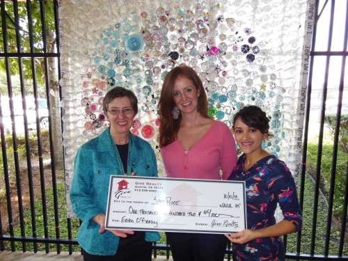 $1,202.65 Donated to SafePlace on Behalf of Erika O'Grady