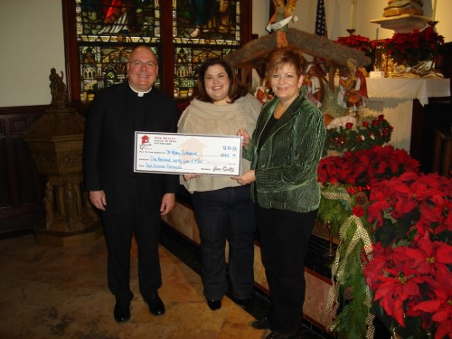 $1,065.00 Donated to Saint Mary Cathedral on Behalf of Ana-Cristina Gonzalez